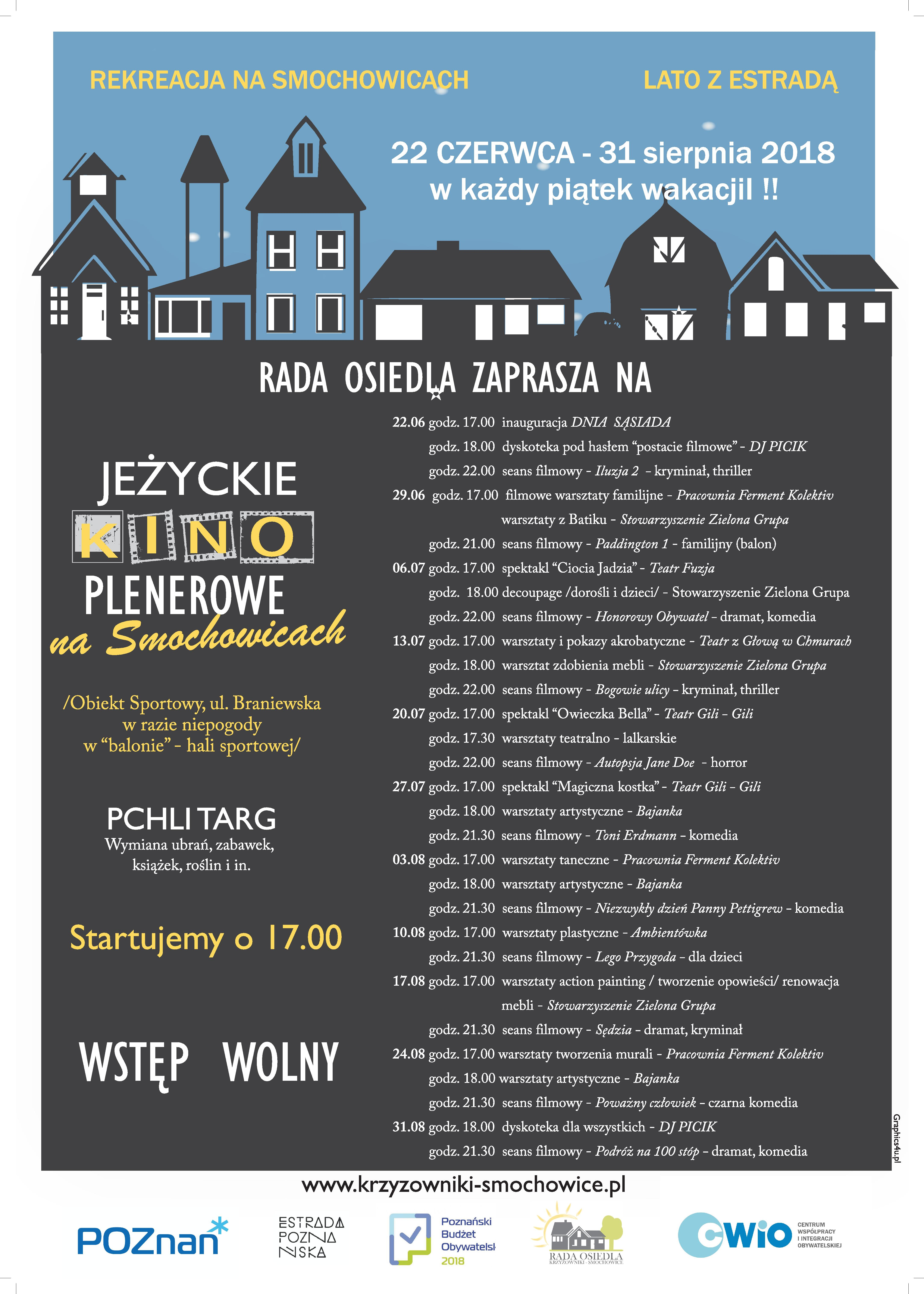 Jeżyckie Kino Plenerowe na Smochowicach